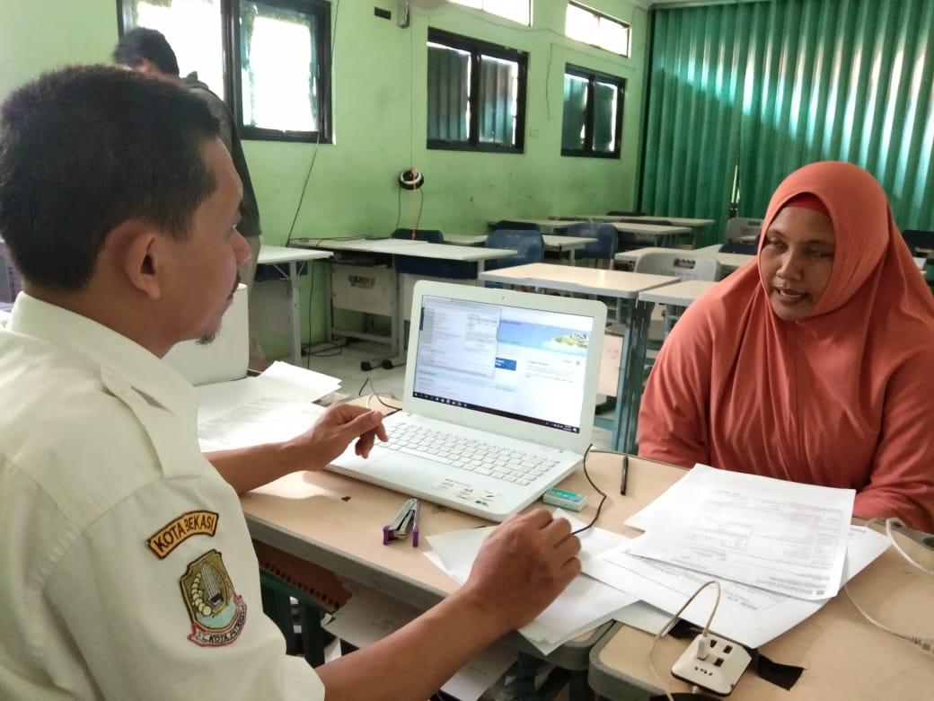 Pendaftaran PPDB, Jalur orangtua, SMP Negeri