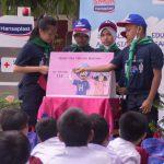 SDN Malaka Jaya 05 Jakarta Timur, PMR SDN Malaka Jaya 05 berikan pelatihan gempa, Murid SDN Malaka Jaya 05 dilatih antisipasi gempa dan pertolongan pertama