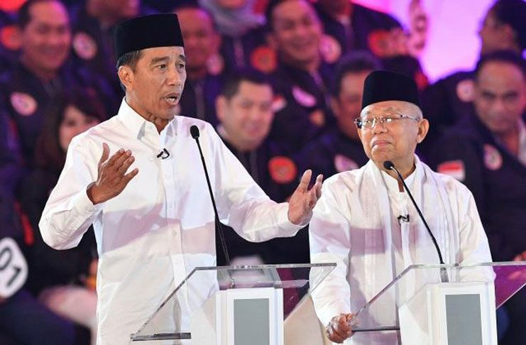 Menang Pilpres, Ini Statistik Capaian Capres Jokowi-Ma'ruf