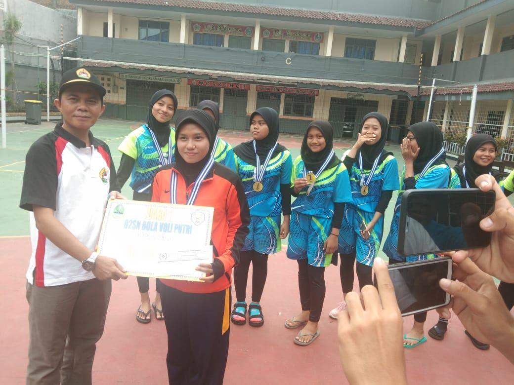 SMK Karya Guna 2 Gelar Olympiade Olahraga