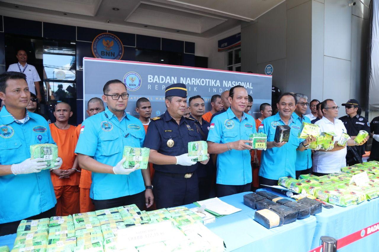 Ungkap 122 Kg Sabu, BNN: 600 Jiwa Diselamatkan