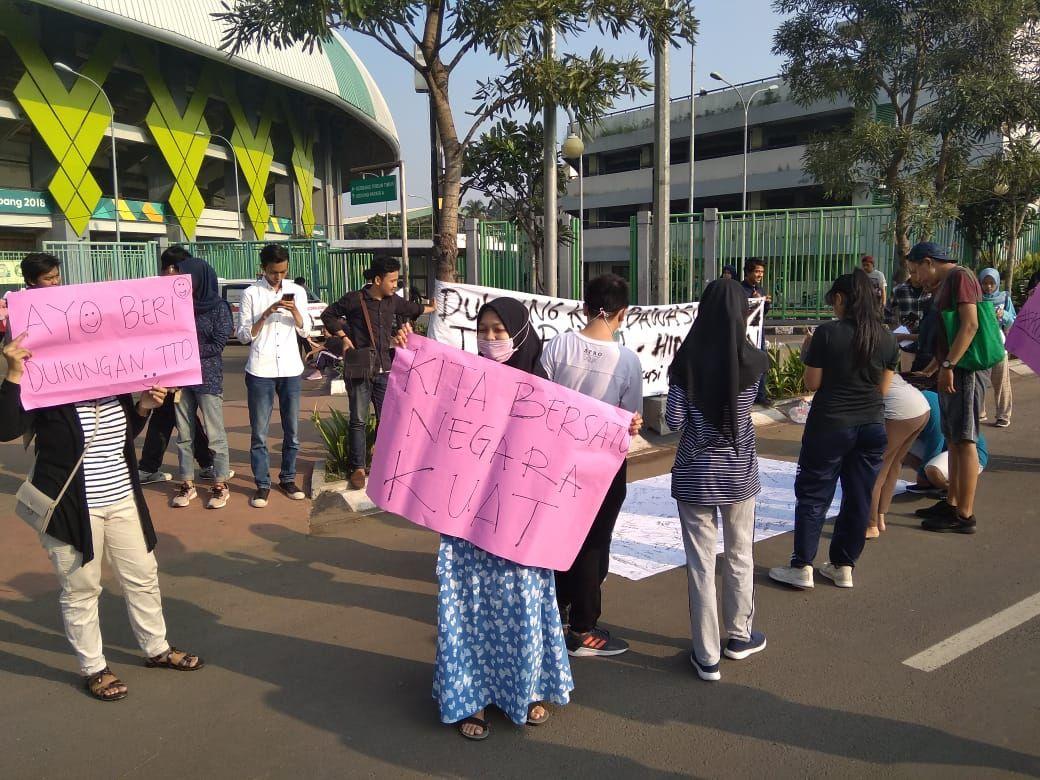 Sekelompok Mahasiswa Ajak Warga Kota Bekasi Kembali Bersatu