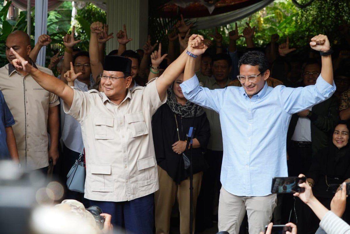 Prabowo Minta Pendukungnya Hindari Bentrokan